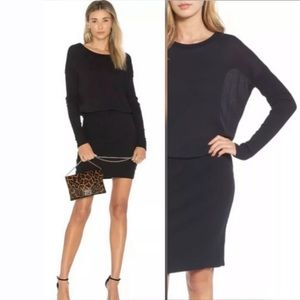 NEW James Perse Blouson Long SLV Tee Dress Sz 2/M